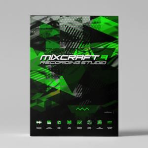 Mixcraft 9 Recording Studio product box image