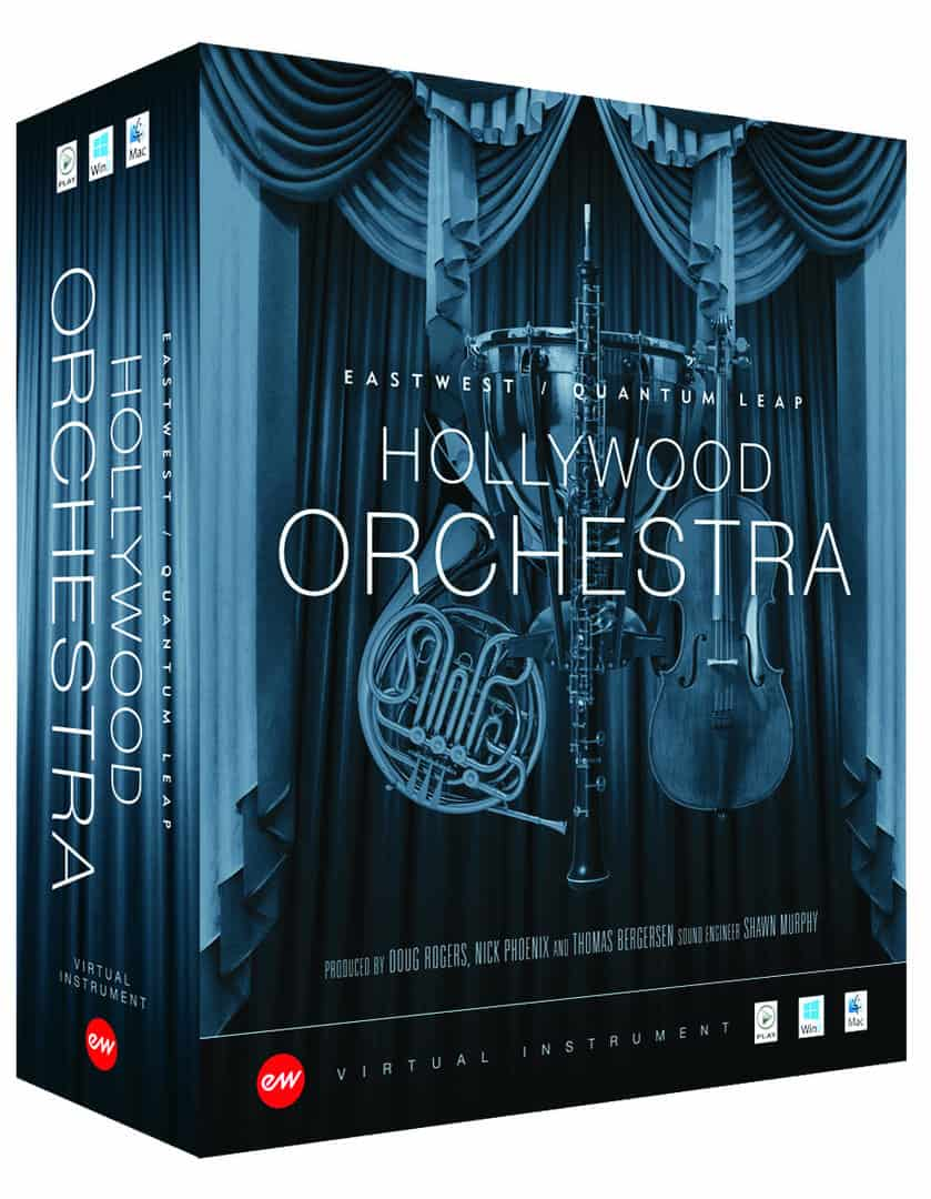 EastWest Hollywood Orchestra Diamond + Solo Instrument Bundle