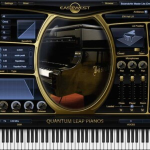 EastWest Quantum Leap Pianos Bösendorfer 290 Silver