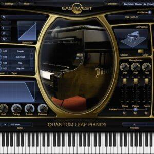 EastWest Quantum Leap Pianos Bechstein D-280 Silver