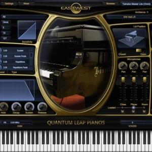 EastWest Quantum Leap Pianos Yamaha C7 Silver