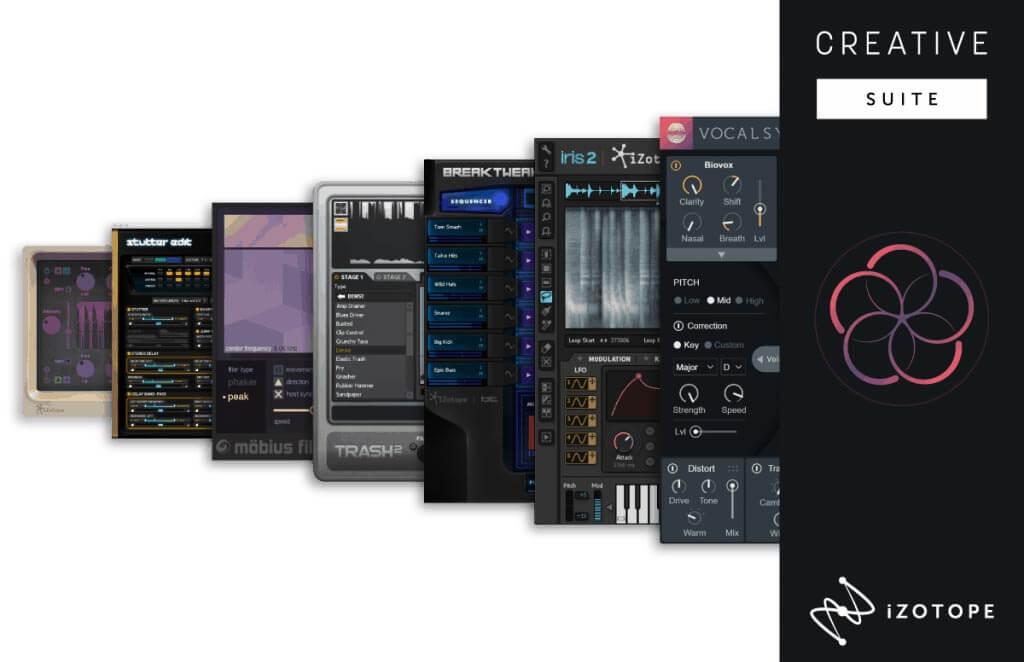 iZotope Creative Suite Upgrade from Creative Bundle