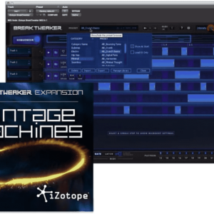 iZotope Vintage Machines Add-on for BreakTweaker