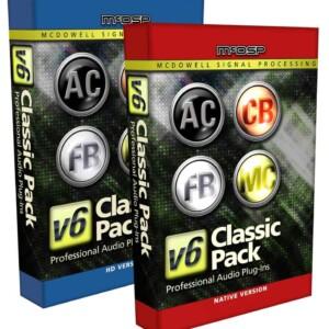McDSP Classic Pack HD v6