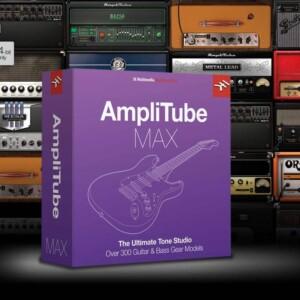 IK Multimedia Amplitube MAX (Digital Upgrade)