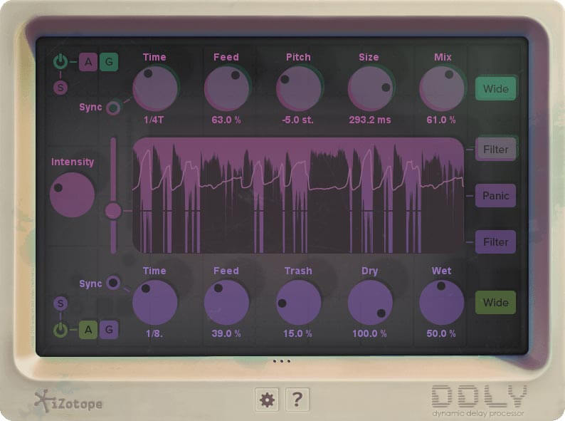 iZotope DDLY Dynamic Delay EDU (Proof of eligibility required)