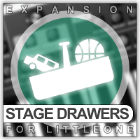 Xhun Stage Drawers Expansion for Little One
