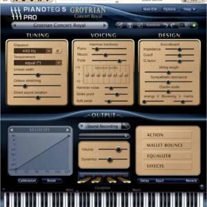 Pianoteq Grotrian Concert Royal