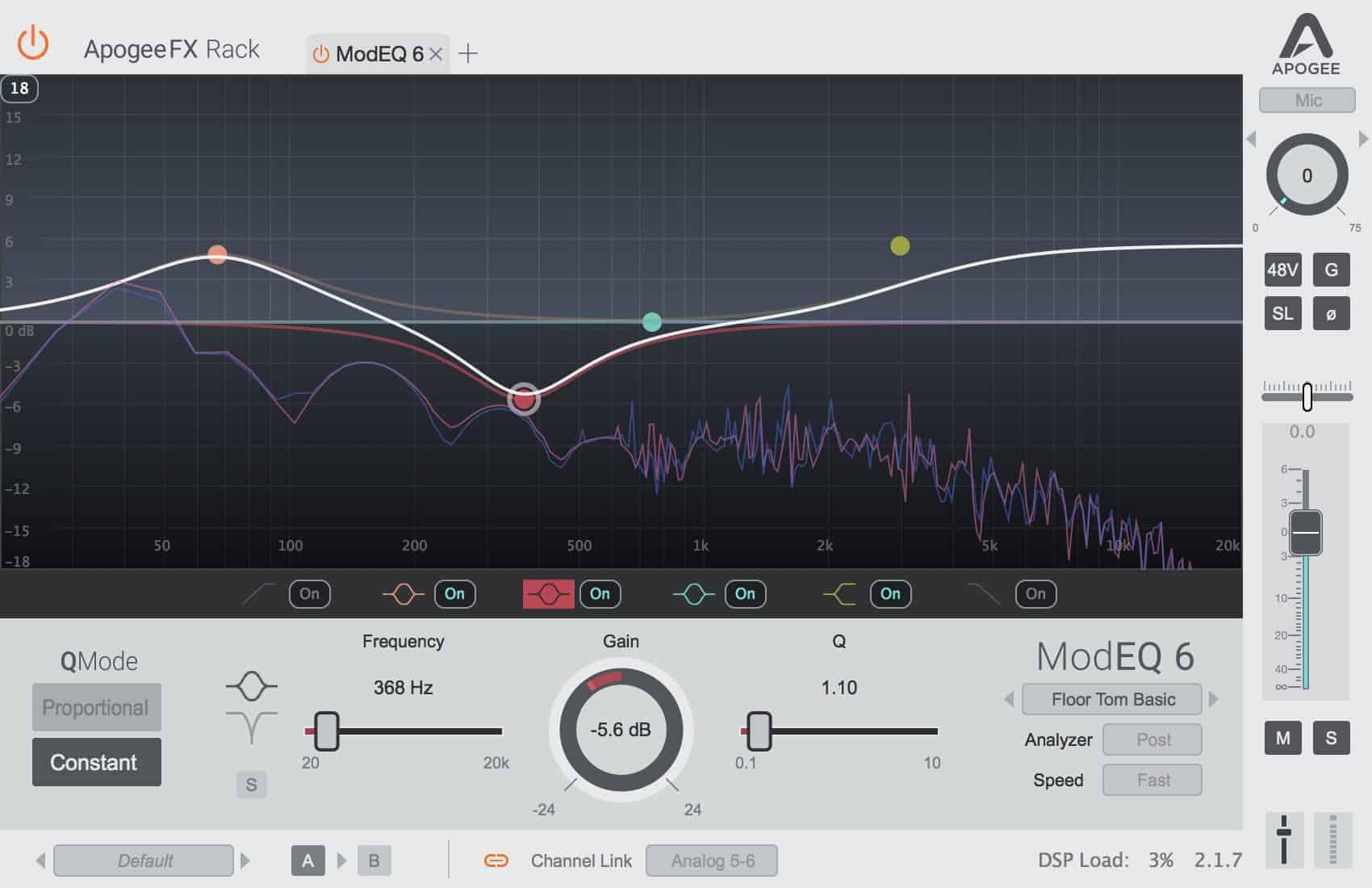 Apogee Filter ModEQ6