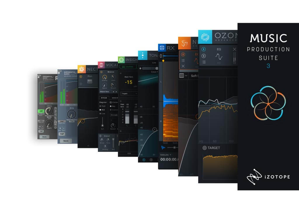 iZotope Music Production Suite 3 Upgrade from O8N2, MPB 1/2, PPS3 or O9 Advanced