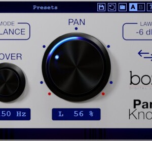 Boz Digital Pan Knob
