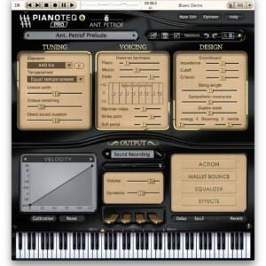 Pianoteq ANT. PETROF 275 Grand Piano