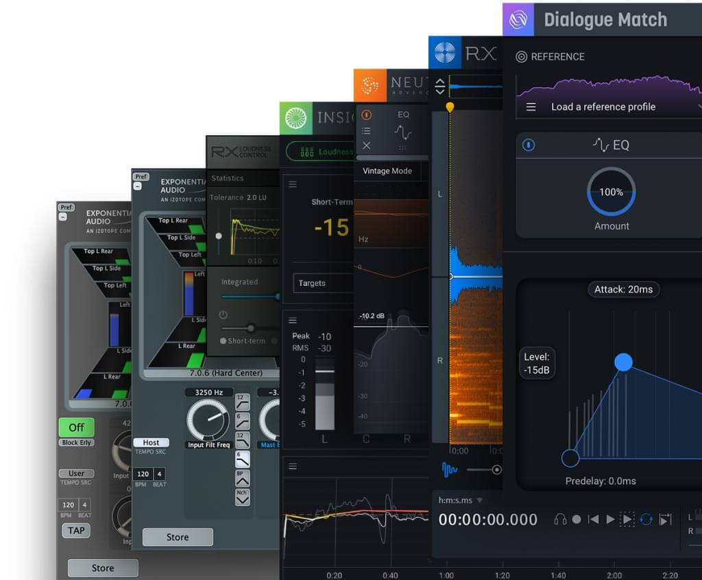 iZotope Post Production Surround Reverb Bundle Crossgrade from RX 1-7 Standard