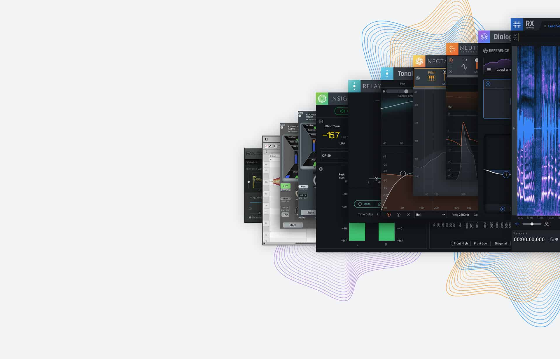 iZotope Post Production Suite 5 Upgrade from RX 1 - 8