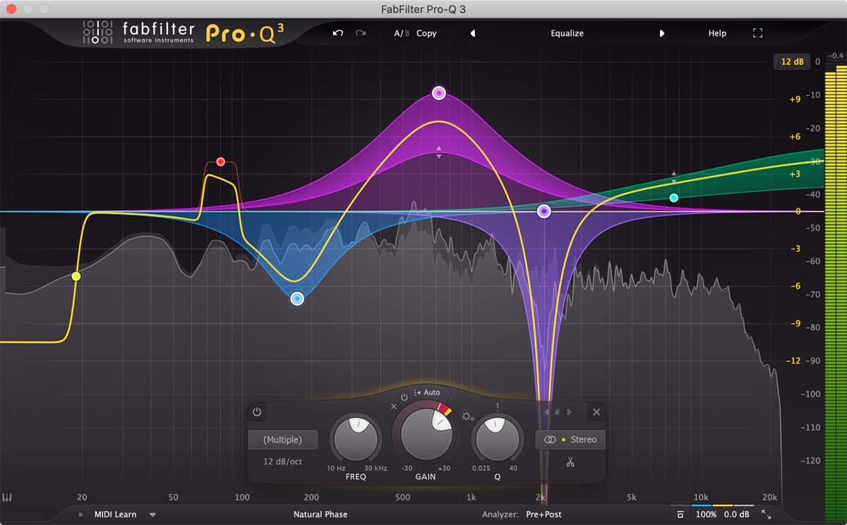 FabFilter Pro-Q 3 Upgrade from Pro-Q 1 or 2