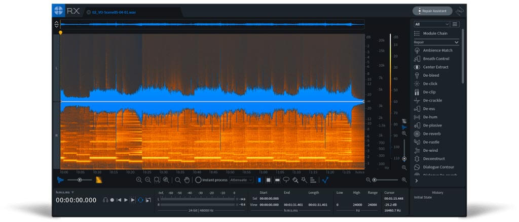 IZotope RX 7 Standard Crossgrade from any Standard or Elements
