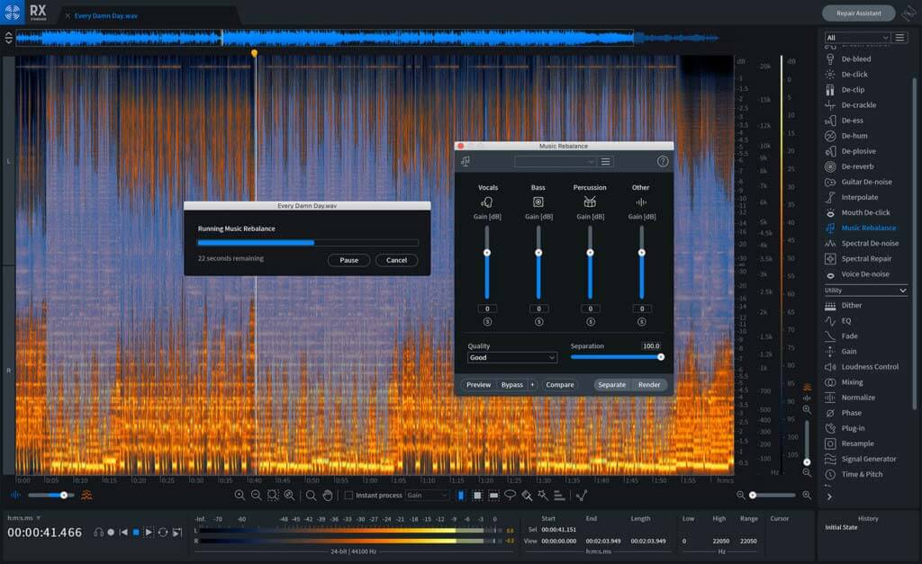 iZotope Rx 8 Standard Upgrade from RX 1-7 Standard or Advanced, RX PPS