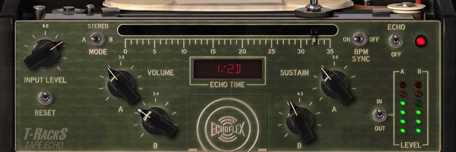 IK Multimedia Tape Echo