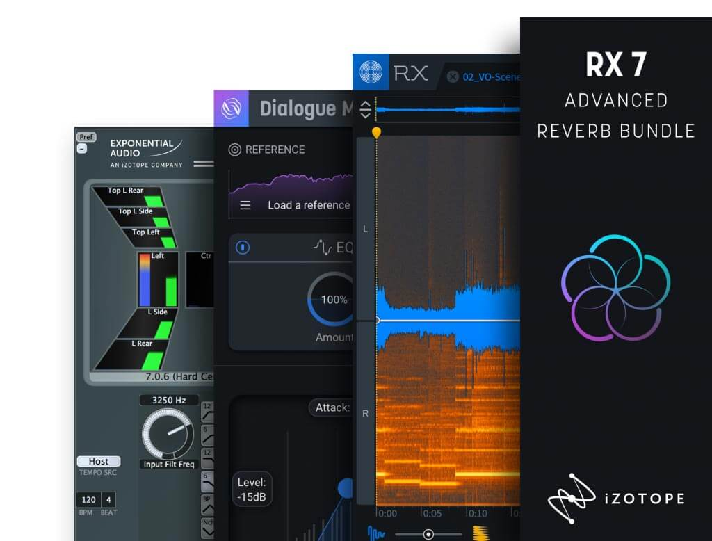 iZotope RX 7 Advanced Reverb Bundle Upgrade from RX 1-7 Standard