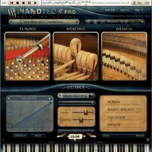 Pianoteq U4 Upright Piano