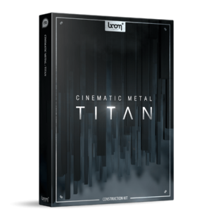 Boom Library Cinematic Metal Titan Construction Kit product box image