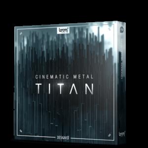 Boom Library Cinematic Metal Titan Designed product box image