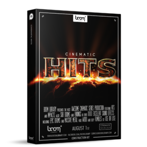 Boom Library Cinematic Hits Construction Kit product box image