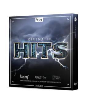 Boom Library Cinematic Hits Designed product box image