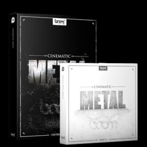 Boom Library Cinematic Metal 1 Bundle product box image