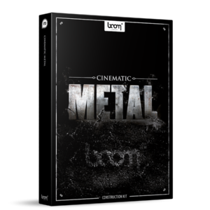 Boom Library Cinematic Metal 1 Construction Kit product box image