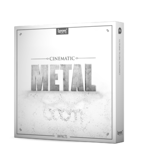 Boom Library Cinematic Metal 1 Designed product box image
