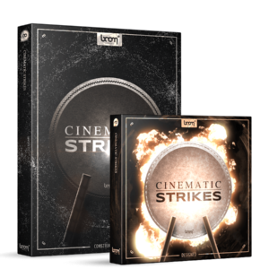 Boom Library Cinematic Strikes Bundle product box image