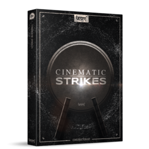Boom Library Cinematic Strikes Construction Kit product box image