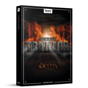 boom Library Cinematic Trailers Construction Kit product box image