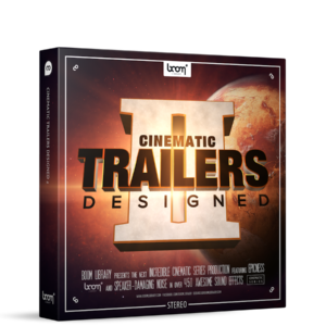 Boom Library Cinematic Trailers 2 Stereo product box image