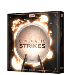 Boom Library Cinematic Strikes Designed product box image