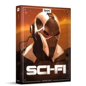 Boom Library Sci-fi Construction Kit product box image