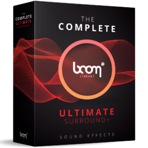 Boom Library Ultimate Surround product box image