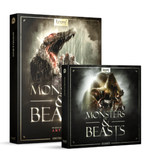 Boom Library Monsters & Beasts Bundle product box image
