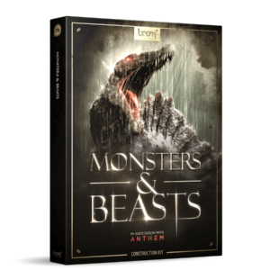 Boom Library Monsters & Beasts Construction Kit product box image