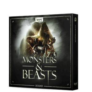 Boom Library Monsters & Beasts Designed product box image